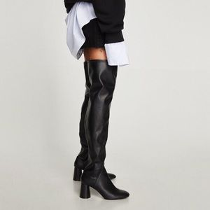 Sexy Zara Thigh High Boots